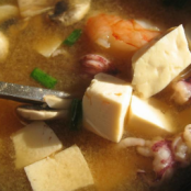 Comforting miso soup