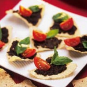 Crunchy Tapenade Appetizers