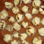 Small stuffed mushrooms (appetizers)