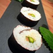 crab and lemon maki