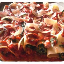 Spinach and ricotta cannelloni