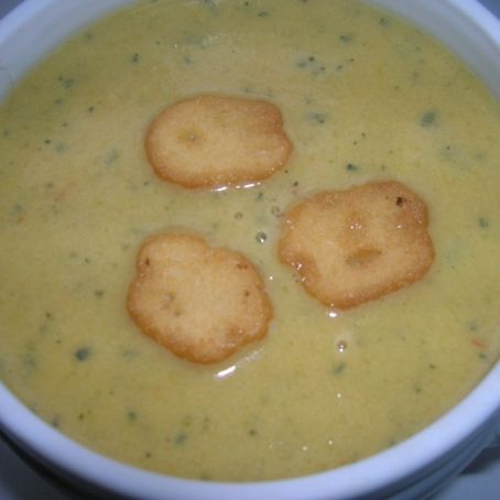 Cream of summer vegetable Soup