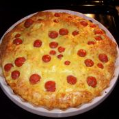 Clafoutis with Cherry Tomatoes