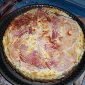 My quiche with bacon