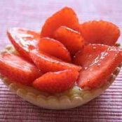 Petite Strawberry Tarts