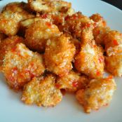 Paprika and Garlic Coated Chicken Bites