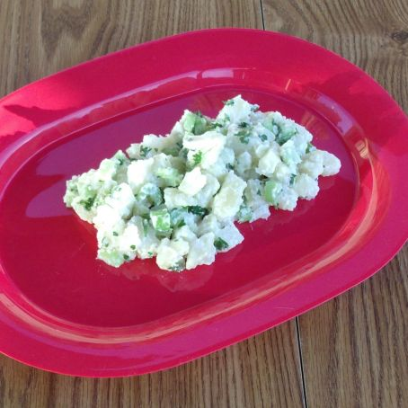 Healthy Yogurt Potato Salad