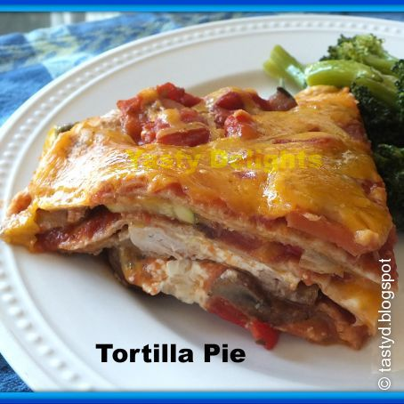 Tortilla Pie Recipe - (4.1/5)