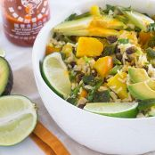 Tropical Black Beans and Rice Bowl