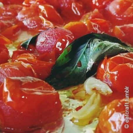Roasted Garlic & Cherry Tomatoes