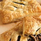 Steak and Mushroom Pasties