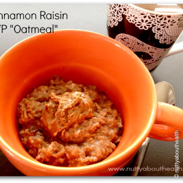 Cinnamon Raisin TVP Oatmeal