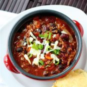 Winning 3-Alarm Bean Chili