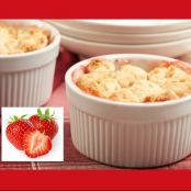Apple Strawberry Cobbler
