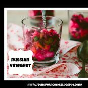 Russian Vinegret Beet Salad