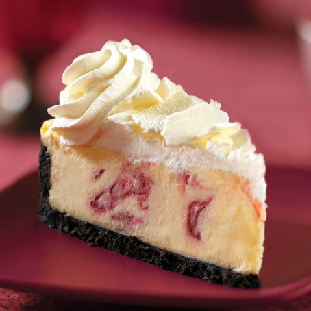 Best White Chocolate Raspberry Cheesecake