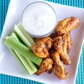 Honey Garlic Sriracha Buffalo Wings
