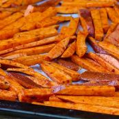 Sweet and Hardly Potato Fries