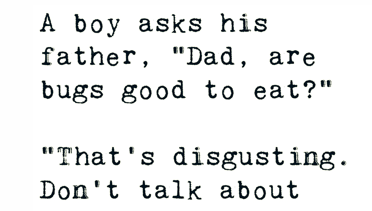 A Boy Asks His Father...