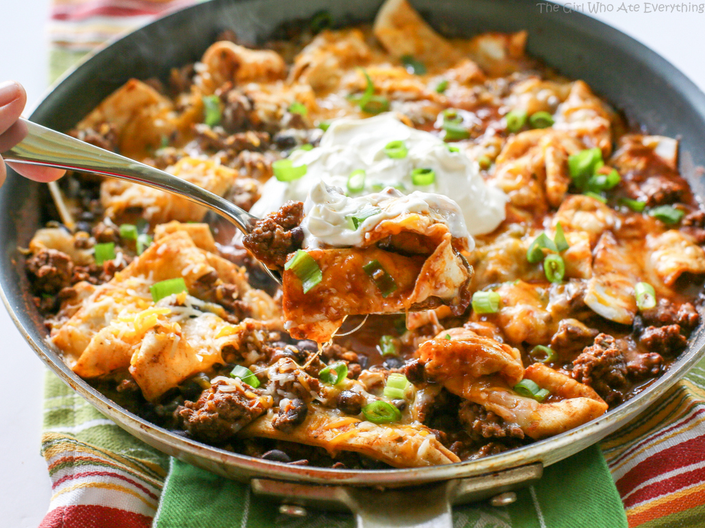 Easy Turkey Burrito Skillet