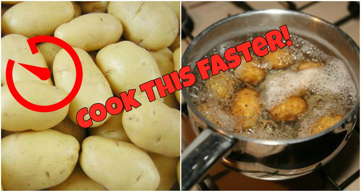 Kitchen HACK: How to Cook Potatoes Faster