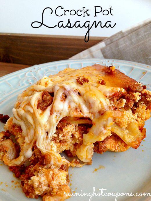 Crock Pot Lasagna Recipe 4 5