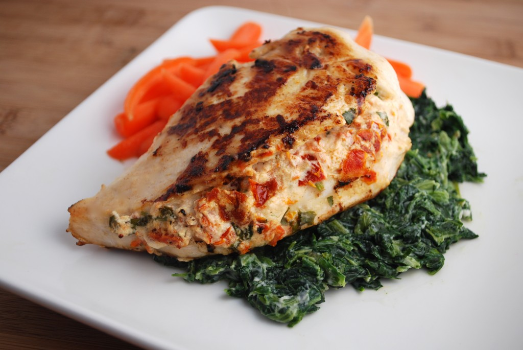 Chicken Stuffed With Goat Cheese & Sundried Tomatoes Recipe