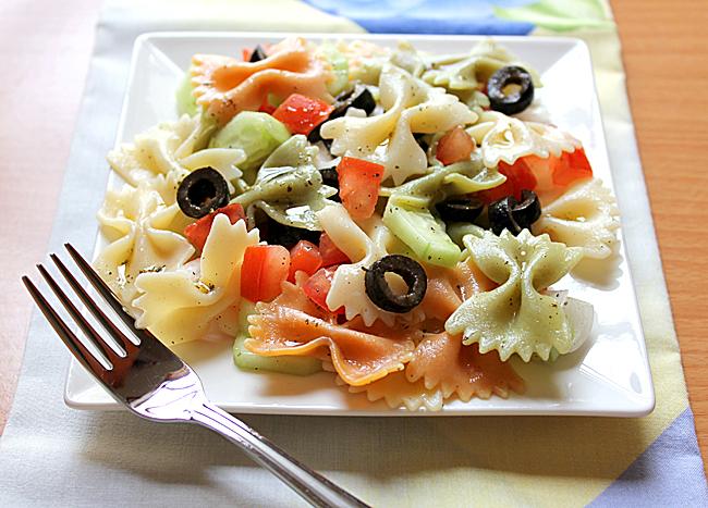 Cold Pasta Salad Recipe 4 2 5