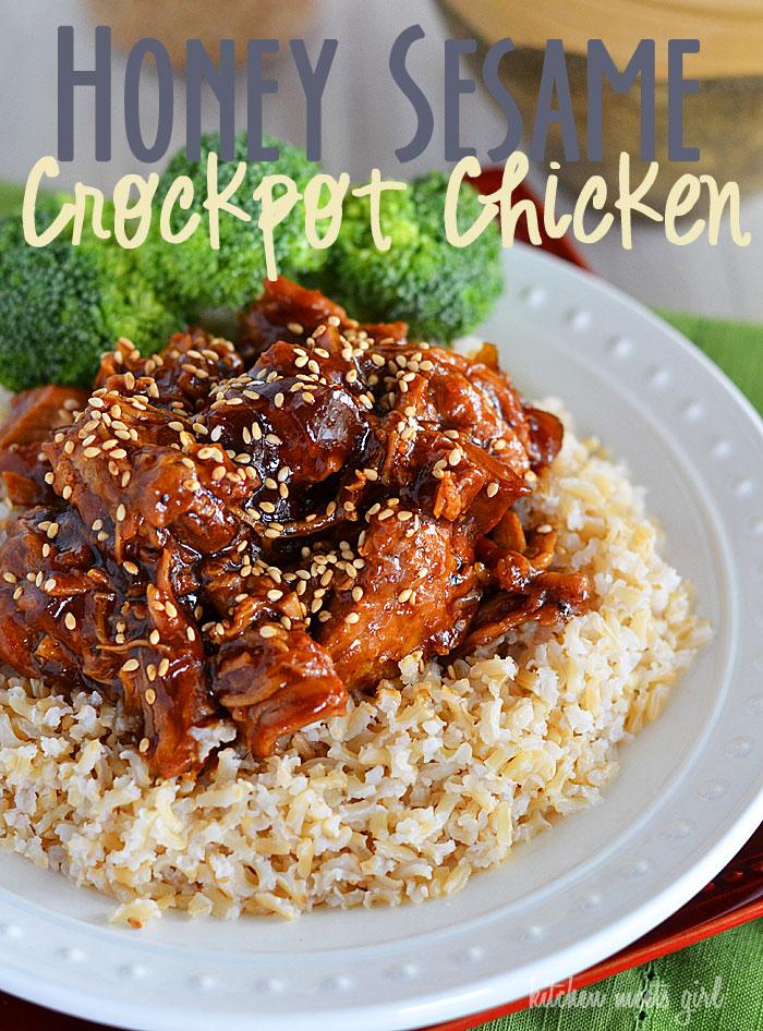 Crockpot Honey Sesame Chicken Recipe 3 1 5