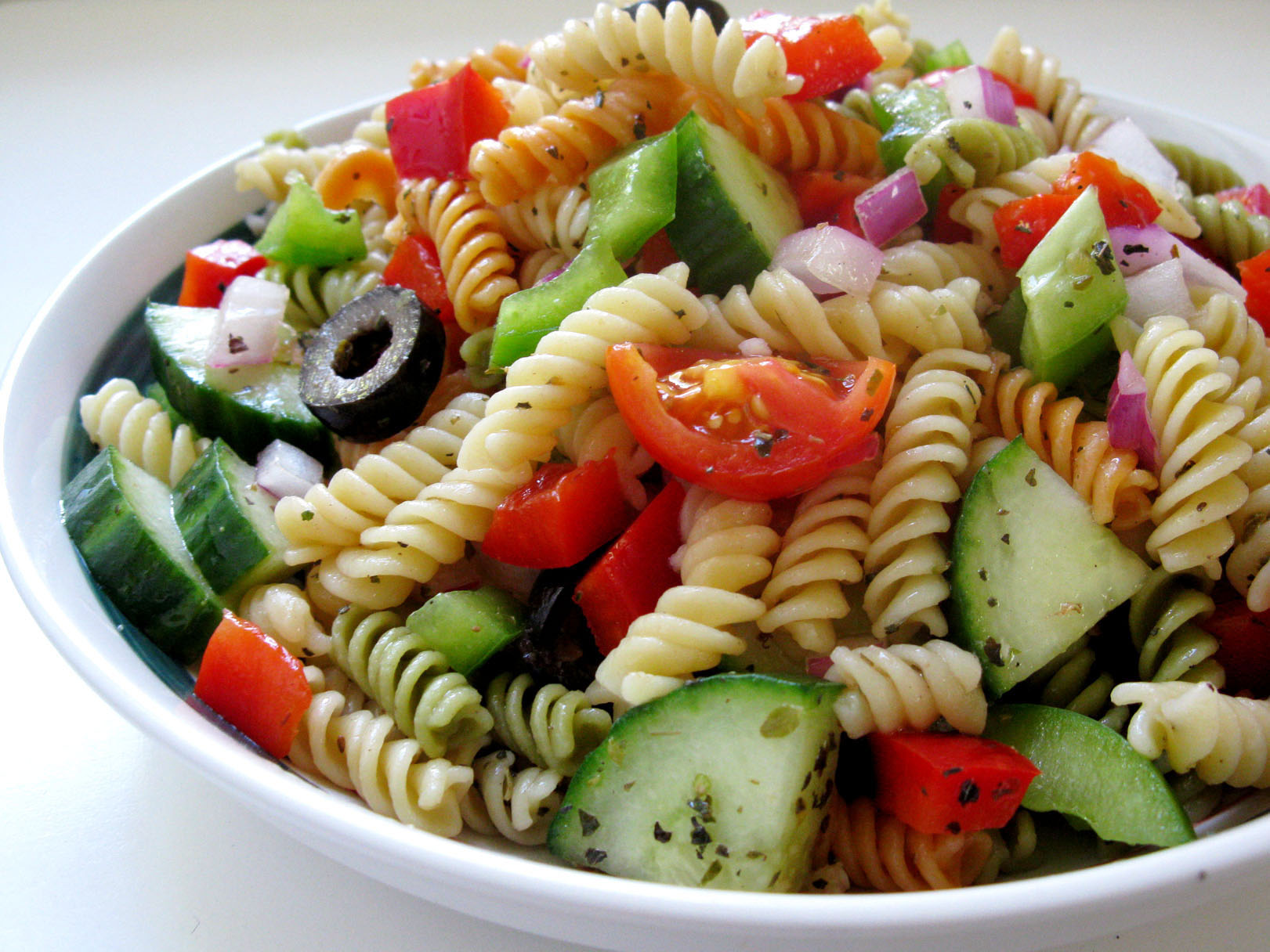 fresh greek pasta salad recipe