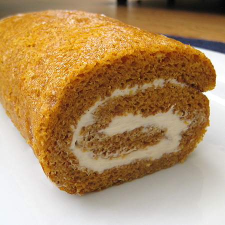 Pumpkin Roll With White Cake Mix