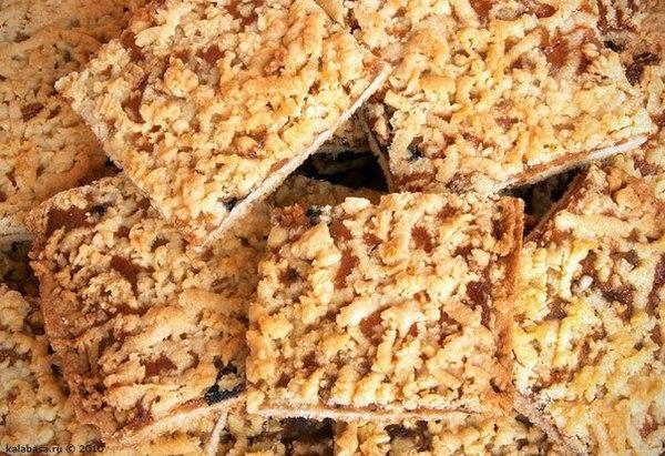 Печенье через мясорубку с вареньем